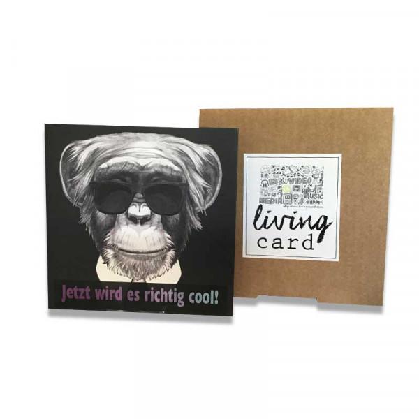 Living Card – Jetzt wird es richtig cool! / Video Karte 4,3 Zoll